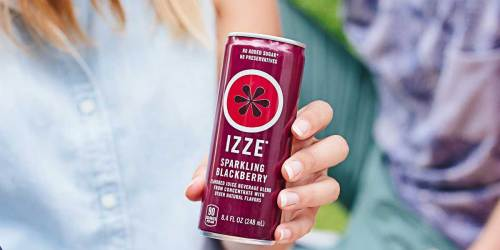 IZZE Sparkling Juice 24-Count Only $12 Shipped on Amazon | Just 51¢ Per Can