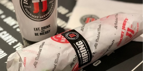 $5 Off $20+ Jimmy John's Order –  AND Score FREE Sub w/ Rewards Sign Up!