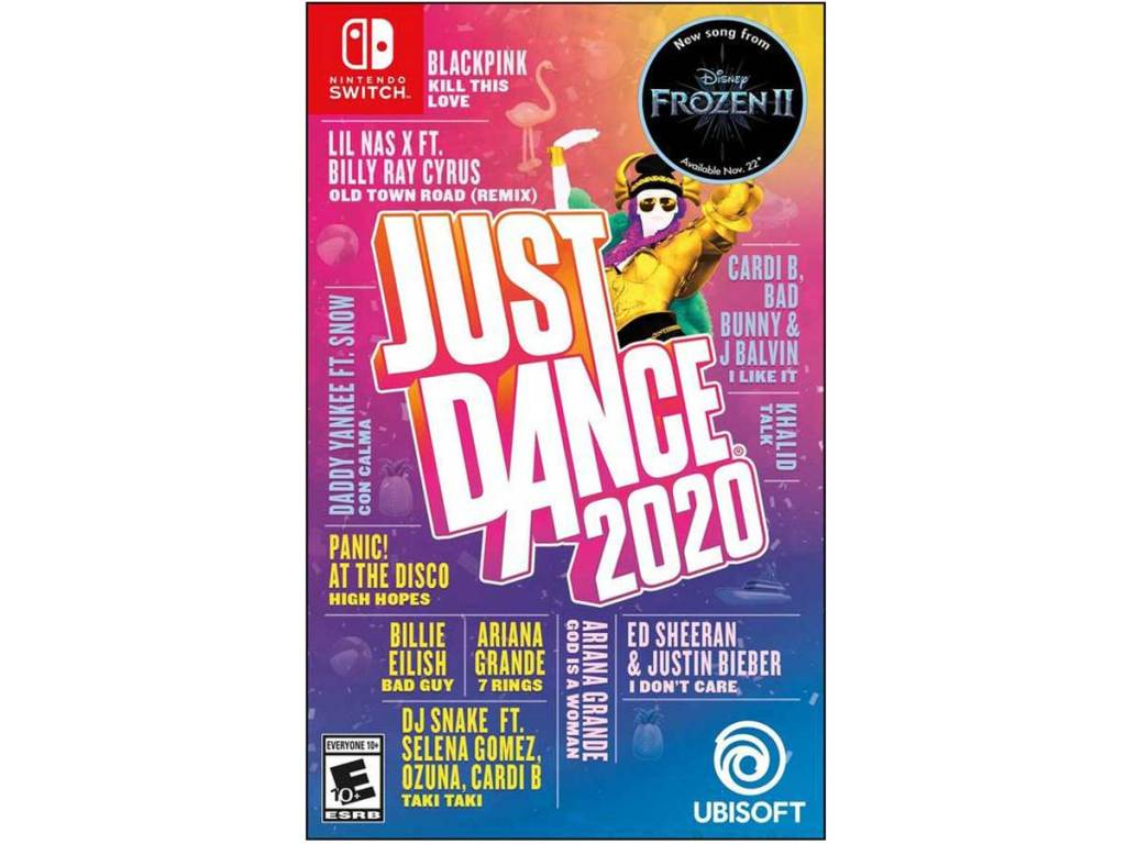 just dance 2020 stock image nintendo switch