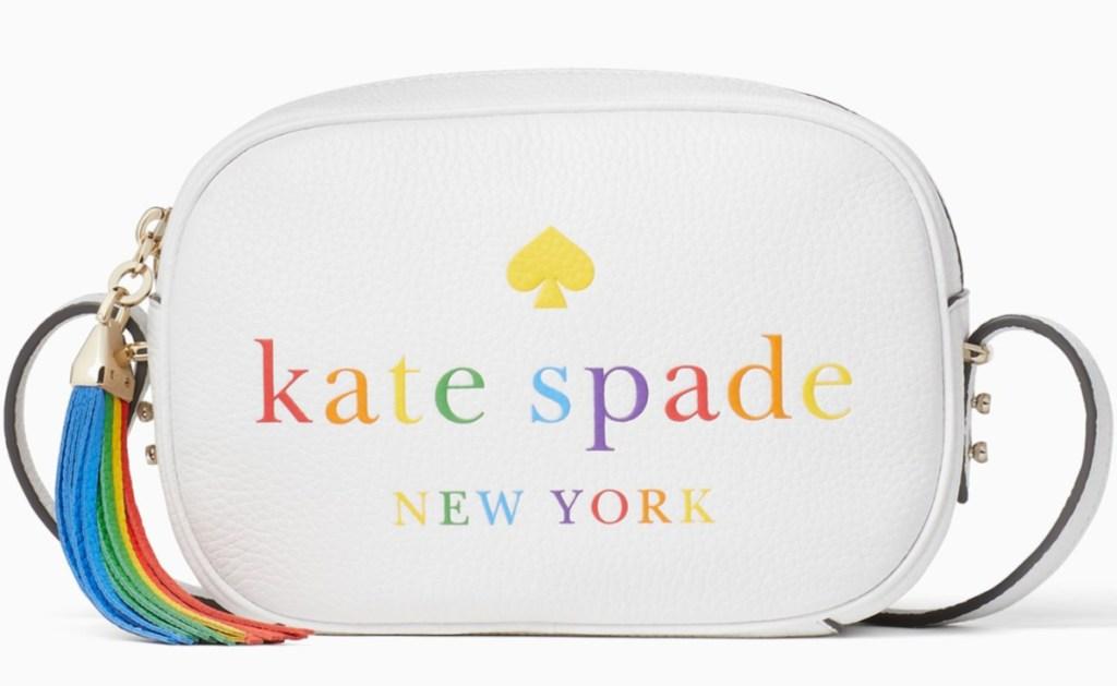 kate spade rainbow themed bag