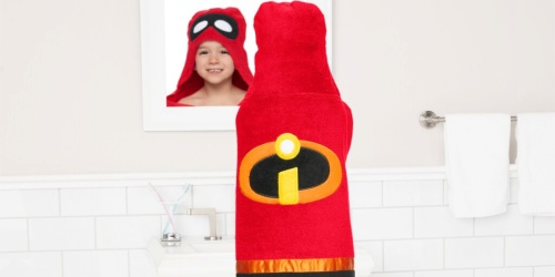 Disney Kids Hooded Towels from $6 Shipped for Kohl's Cardholders (Regularly $22+)