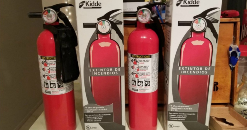 kiddie 2-pack fire extinguisher w/ boxes