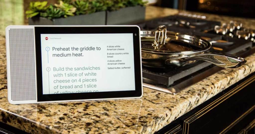 lenovo smart display on stove