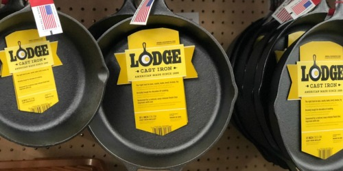 Lodge Pre-Seasoned Cast Iron Skillet Just $9.88 on Amazon (Regularly $19.25)