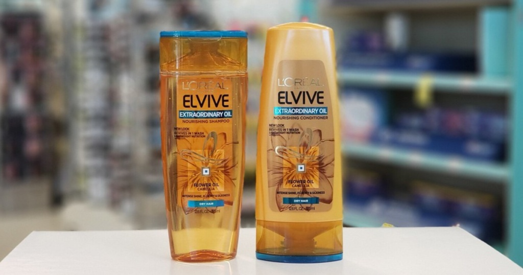 l'oreal paris elvive nourishing shampoo and conditioner