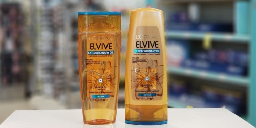 L'Oreal Elvive Shampoo and Conditioner Only 99¢ Each on Walgreens (Regularly $4)