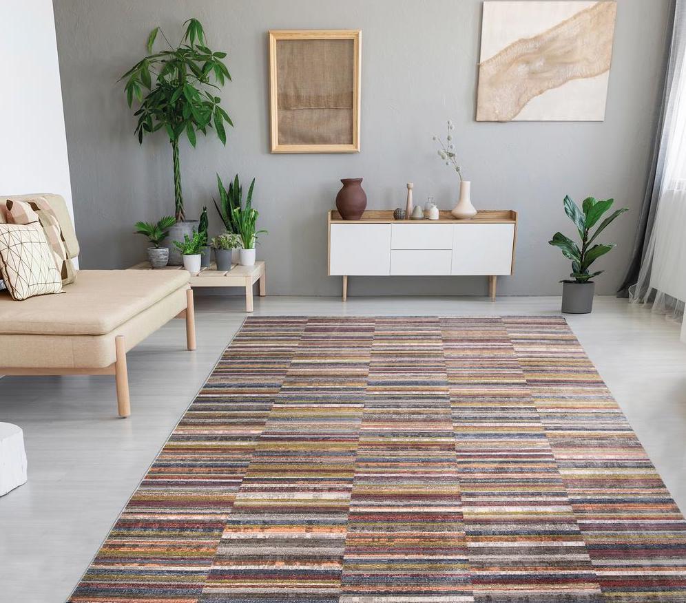lorraine rug in living area