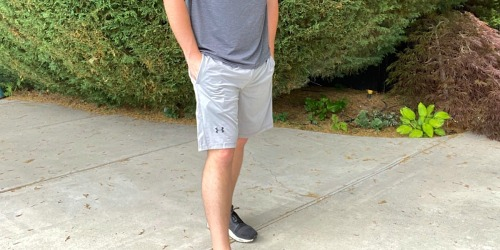TWO Pairs of Under Armour Men's Shorts Only $28 Shipped