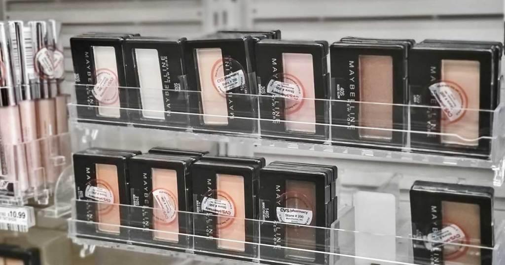 maybelline eyeshadows on shelf