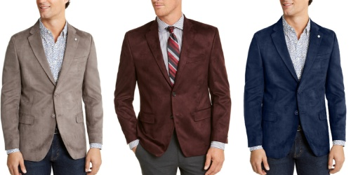 Men's Sport Coats Only $27.99 Shipped on Macys.com (Regularly $295)