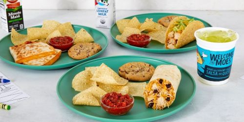 FREE Kids Meals Every Sunday at Moe's w/ Purchase of Adult Entree + Mini Chef Contest