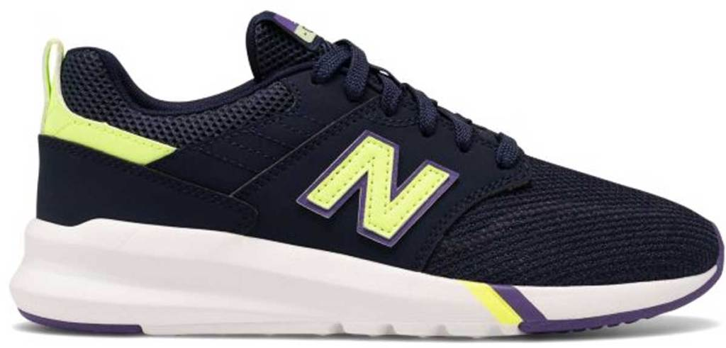 women's new balance shoes black and yellow