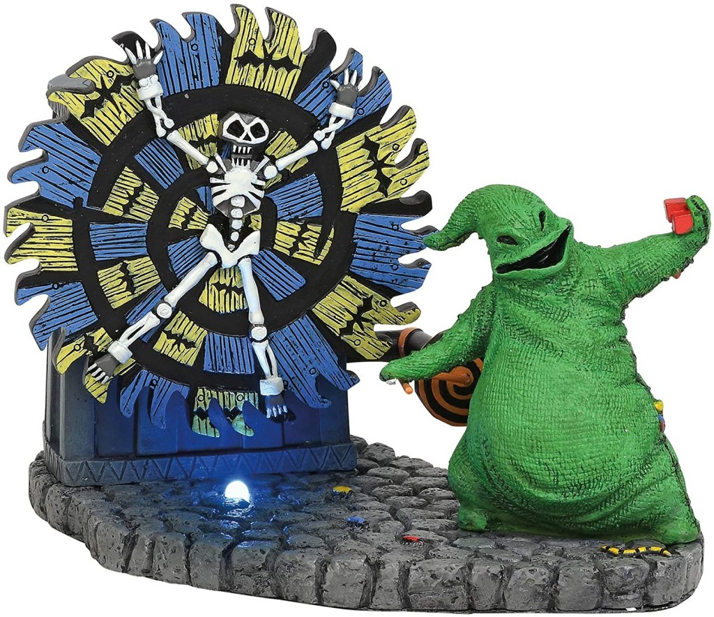 oogie boogie giving a spin