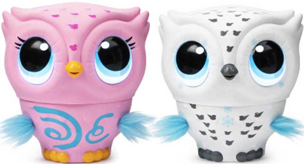 owleez pink and white owls