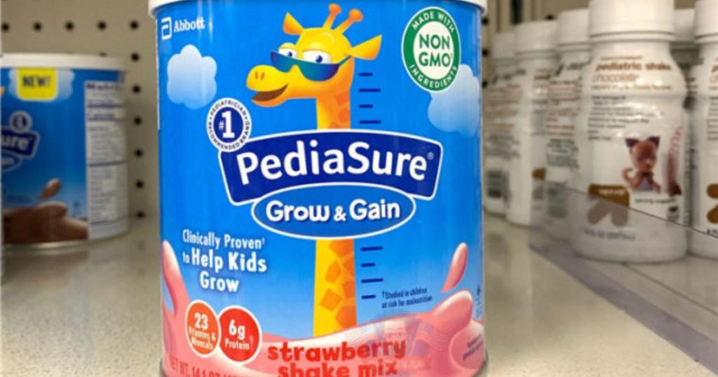 pediasure grow and gain strawberry