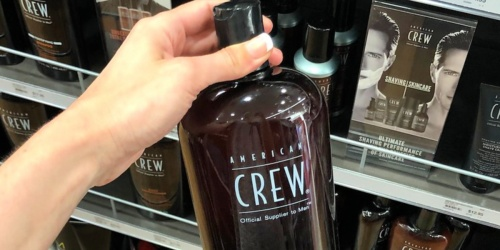 American Crew 3-in-1 Shampoo 33.8oz Bottle Just $9 Shipped on Amazon (Regularly $24)