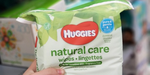 Huggies Fragrance-Free Baby Wipes 528-Count Only $10.76 Shipped on Amazon (Regularly $15)