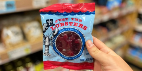Trader Joe's Just the Lobsters Soft & Chewy Gummy Candies Just 99¢