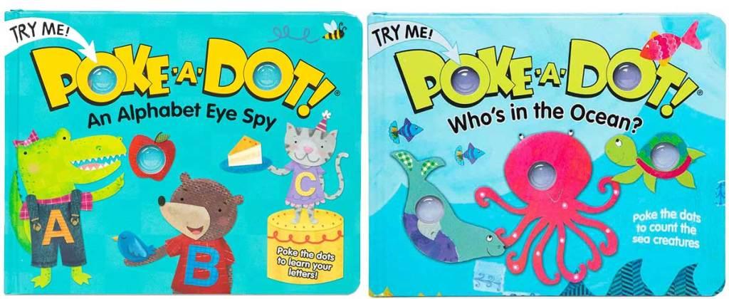 2 poke a dot books