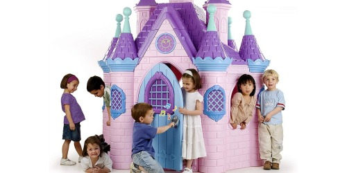 This Jumbo Princess Palace Playhouse Can be Yours for a Mere $900