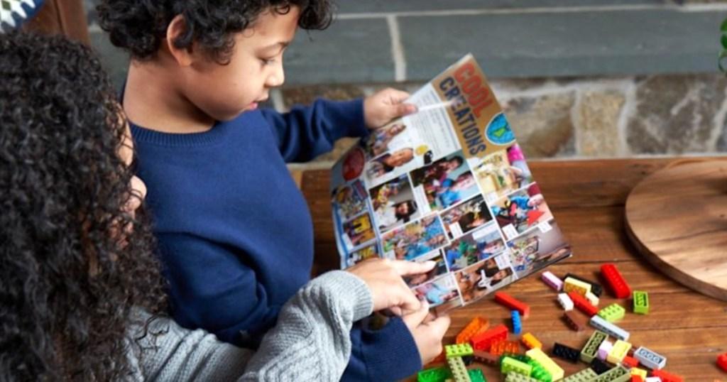 reading lego life magazine
