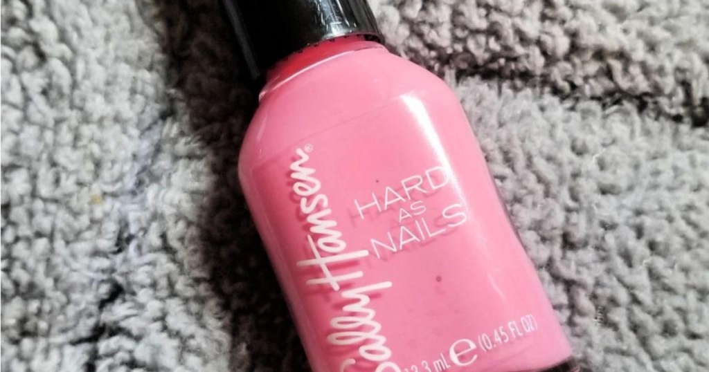 Sally Hansen Hard as Nails Pink polish
