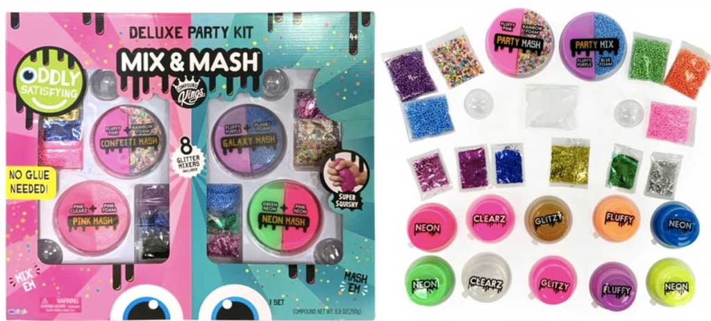 deluxe party kit mix and match slime