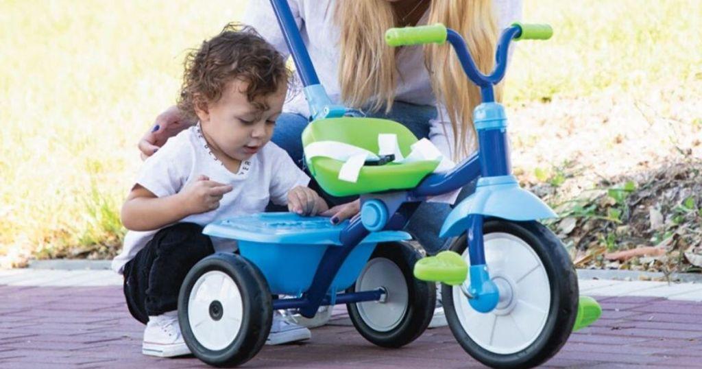 smarTrike folding fun toddler tricycle