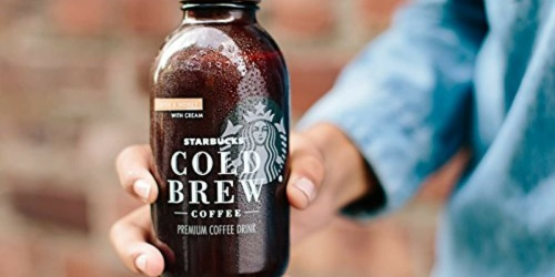 New Starbucks Cold Brew Coffee from $2 at Target