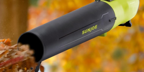 Sun Joe Cordless Jet Blower w/ Battery & Charger Just $59.99 Shipped on HomeDepot.com