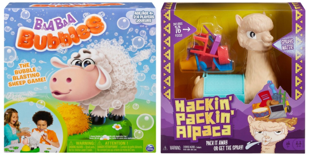 baabaa bubbles game and hackin packin alpaca games