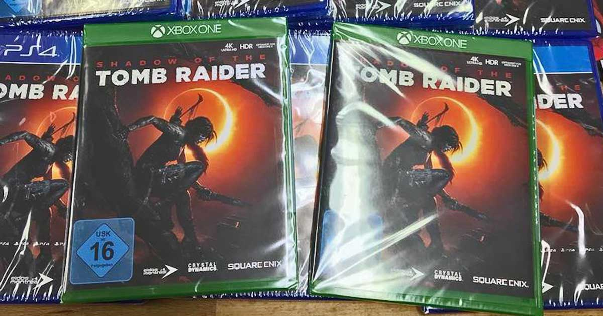 Tomb Raider Pre Owned Xbox One 3 Game Bundle Just 22 Regularly 35