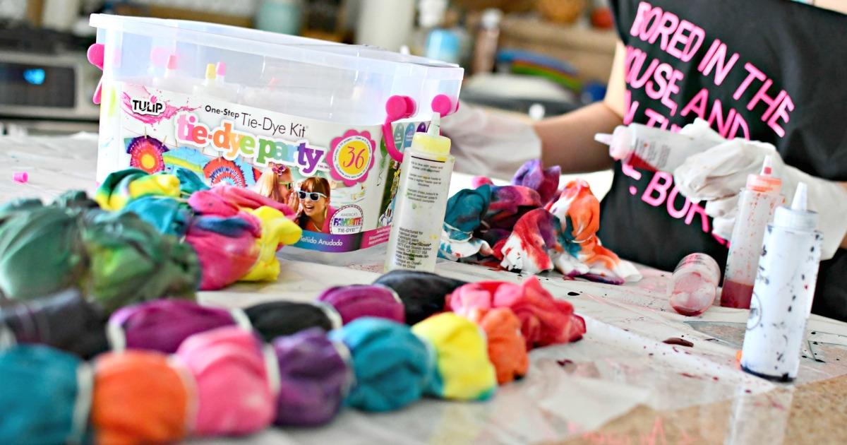 tulip tie-dye kit review