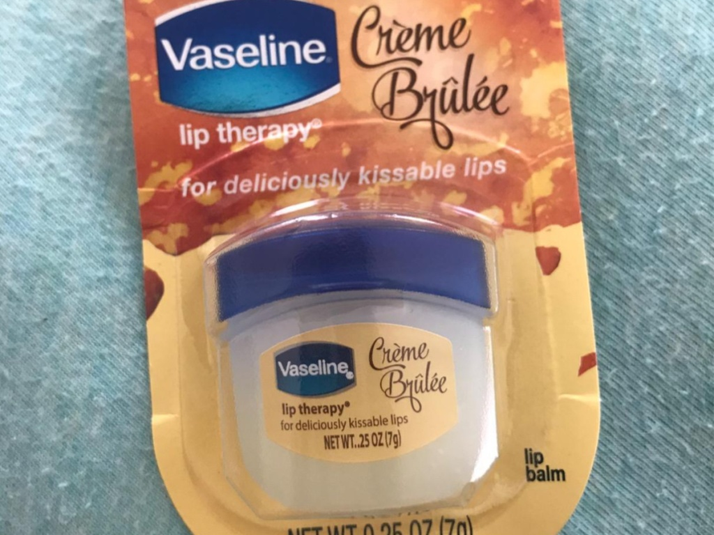 vaseline lip care in package