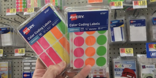 Avery Color Coding Labels Just $1.68 on Walmart.com (Regularly $5)