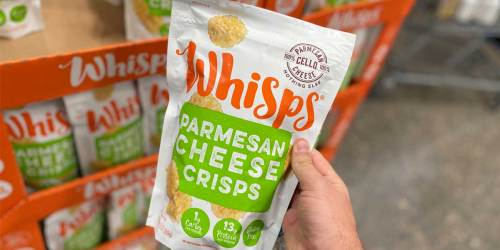 Whisps Cheese Crisps Bags 4-Pack from $10 Shipped on Amazon | Keto-Friendly Snack