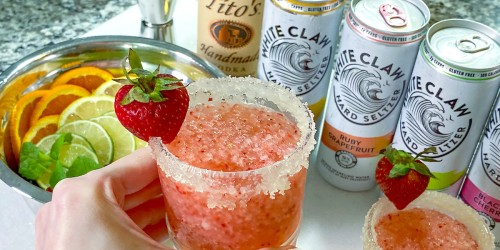 Turn White Claw Seltzers into the Best Summer Slushie Adult Cocktail!
