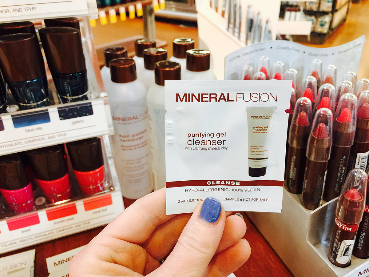 beauty sample at whole foods