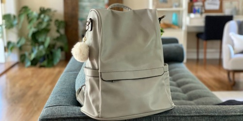 This Highly Rated Women's Backpack Purse from Amazon is Cute, Comfortable, & Affordable