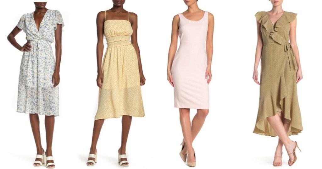 women wearing summer dresses