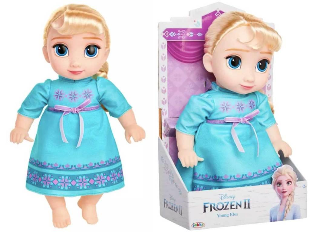 disney frozen 2 young elsa doll stock image