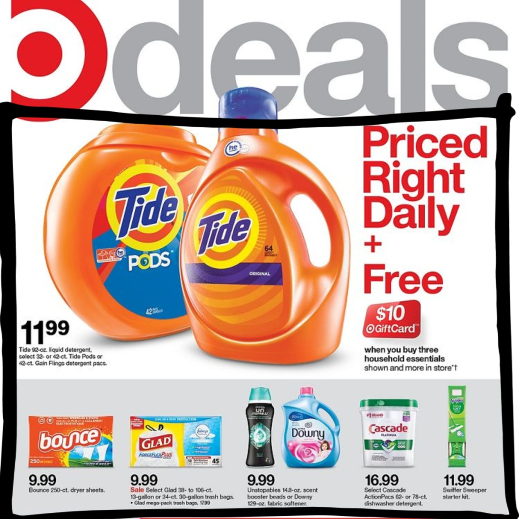 7-5 to 7-11 Target Weekly ad scan page 1