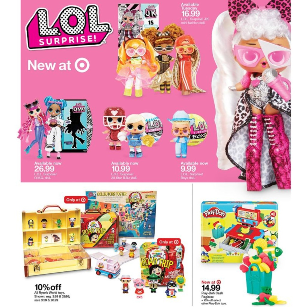 7-5 to 7-11 Target Weekly ad scan page 11