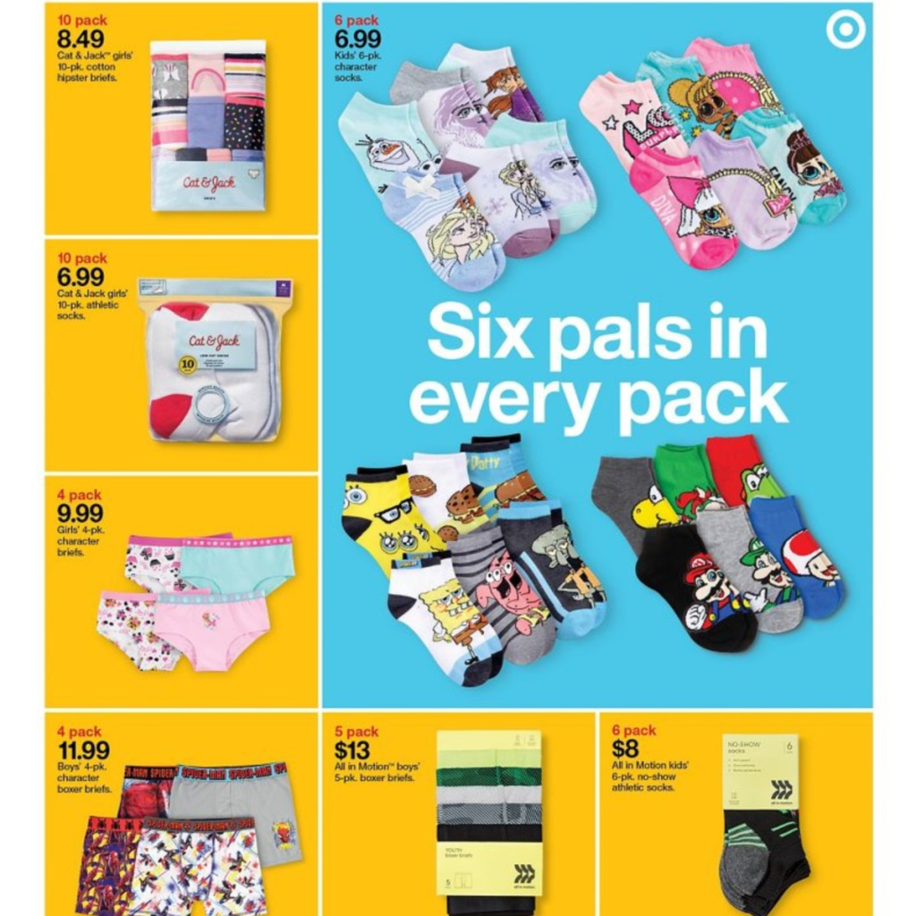 7-5 to 7-11 Target Weekly ad scan page 16
