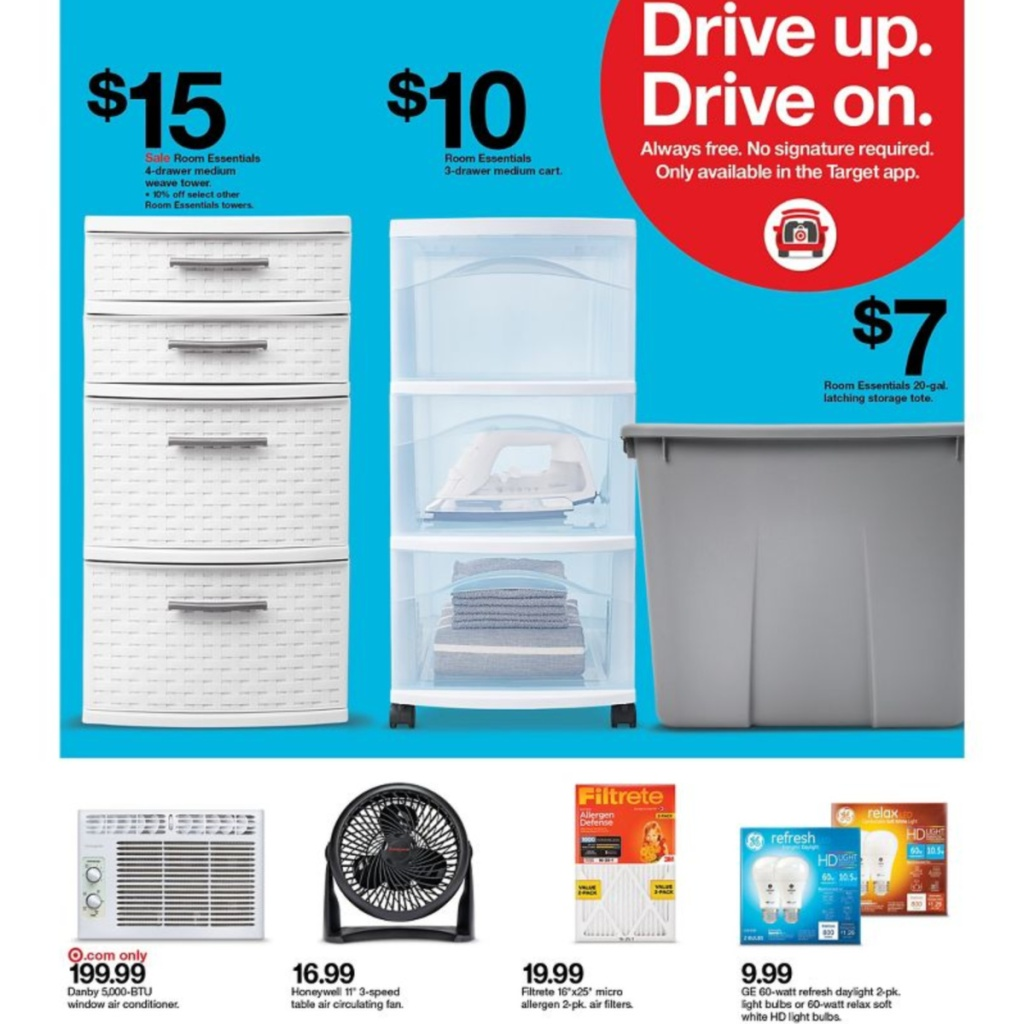 7-5 to 7-11 Target Weekly ad scan page 20