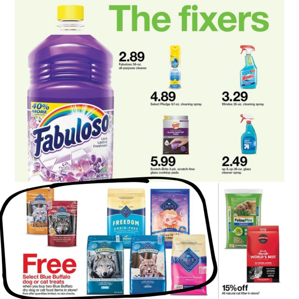 7-5 to 7-11 Target Weekly ad scan page 22