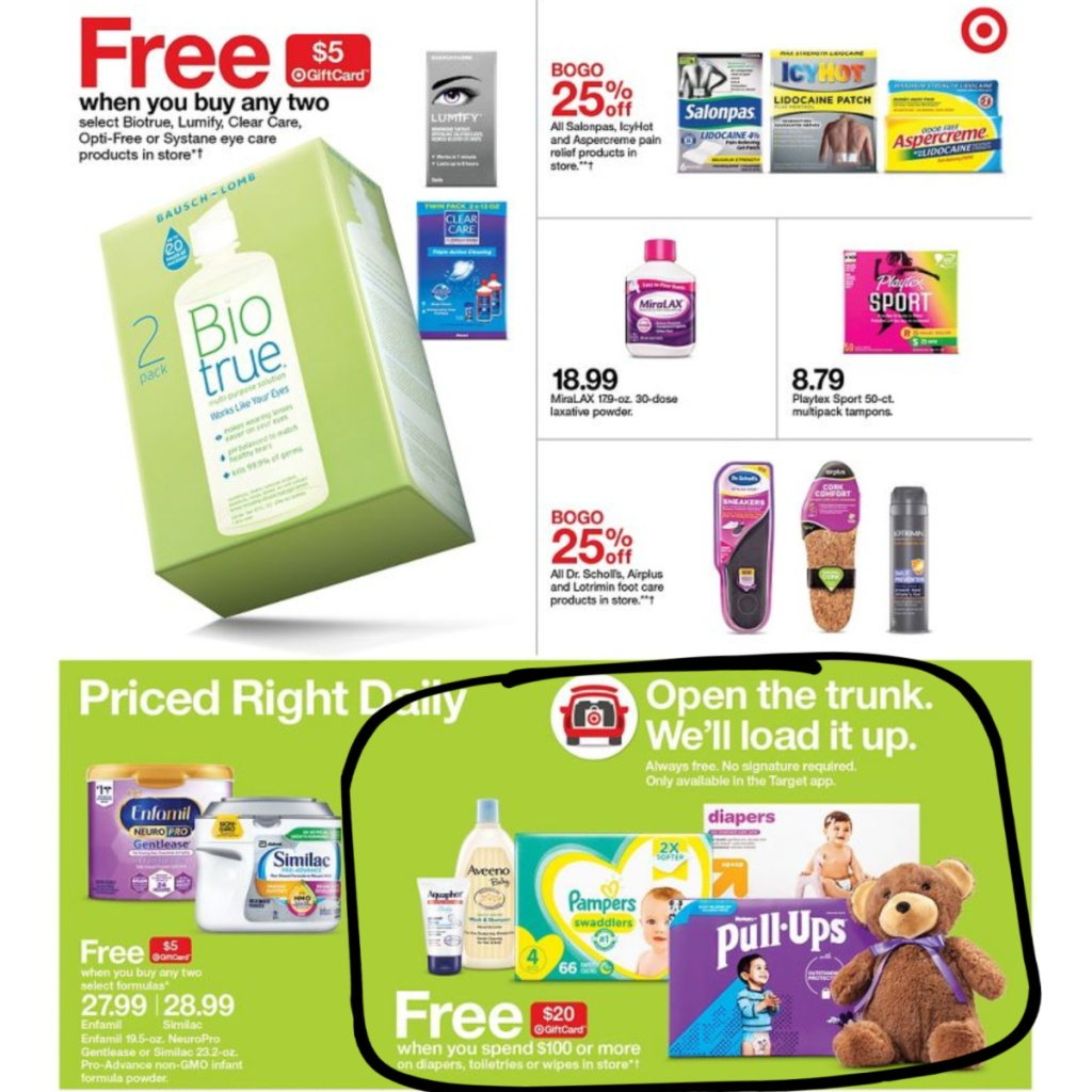 7-5 to 7-11 Target Weekly ad scan page 23