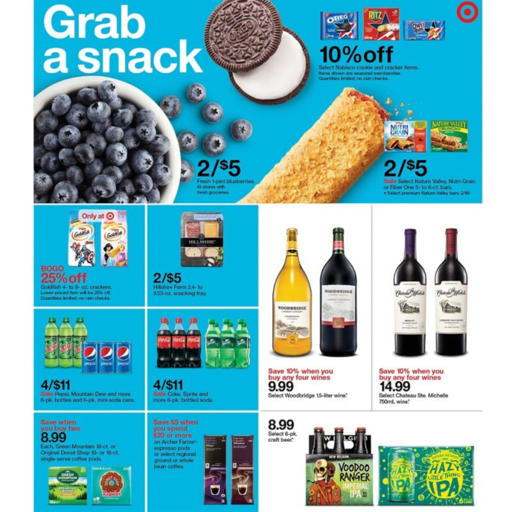 7-5 to 7-11 Target Weekly ad scan page 25