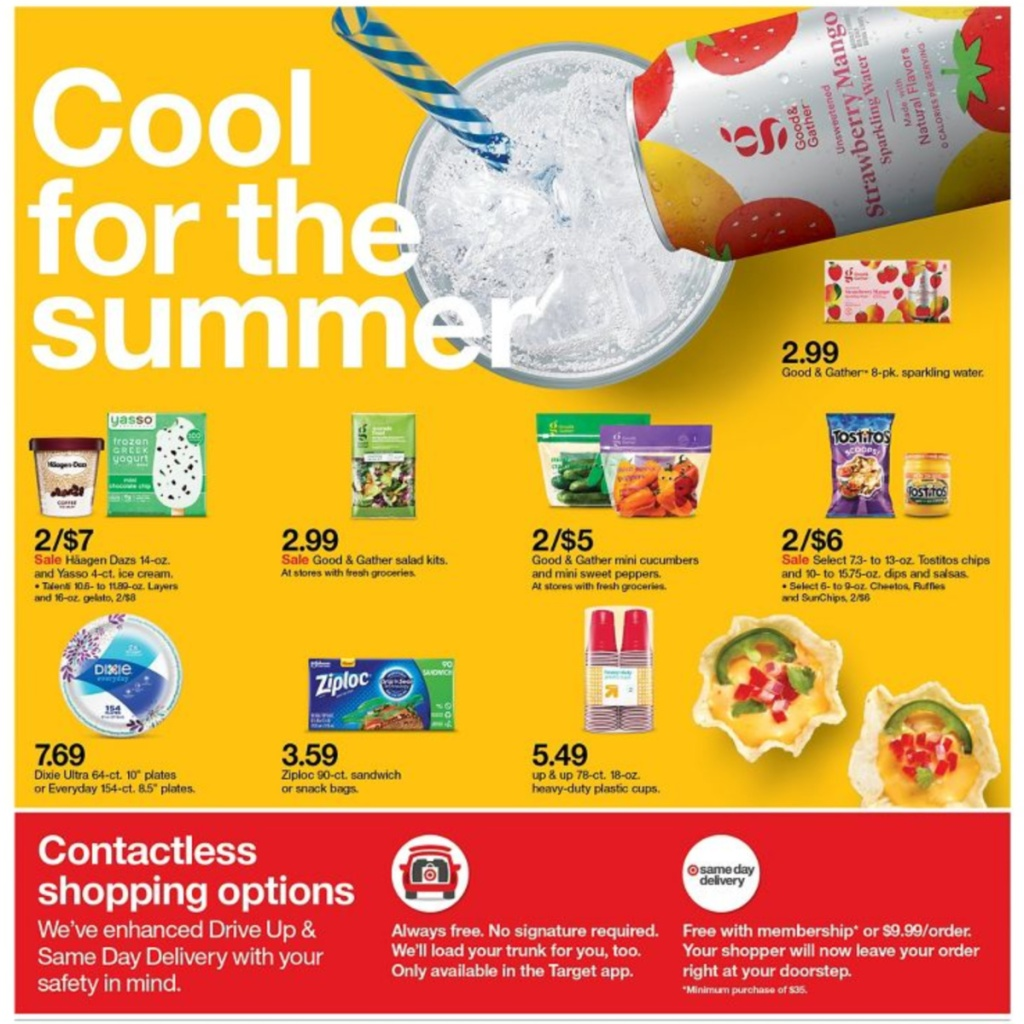 7-5 to 7-11 Target Weekly ad scan page 26