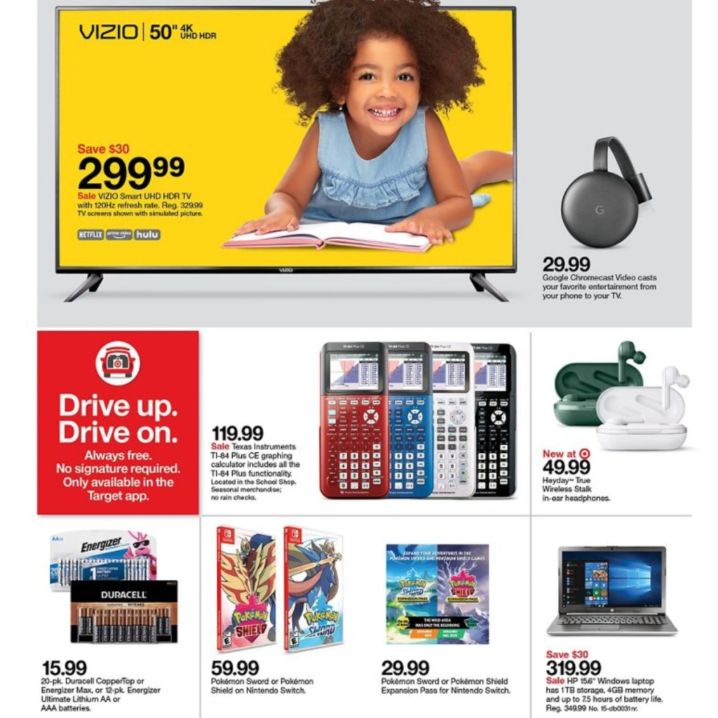 7-5 to 7-11 Target Weekly ad scan page 8
